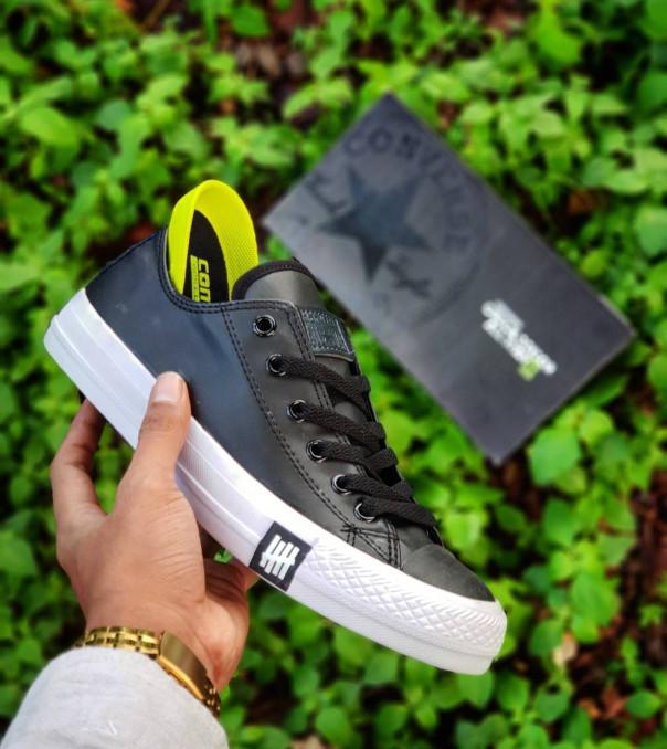 Sepatu Converse All Star Leather Grade Original   Pria Wanita 2112fefb07