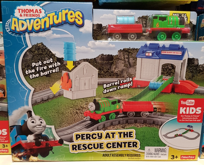 ... Thomas & Friends Adventures Percy At The Rescue Center