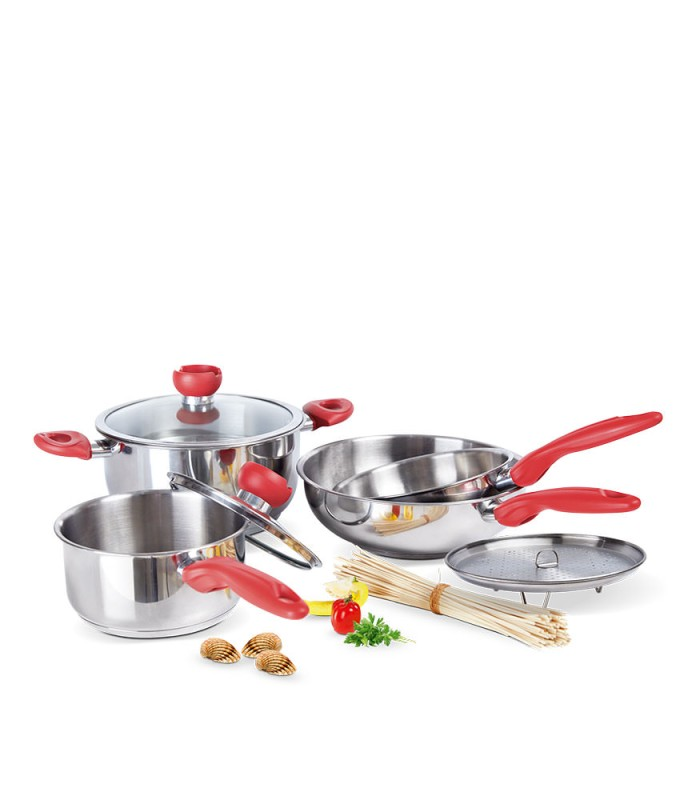 luxury cookware set 7 pcs-x899s3