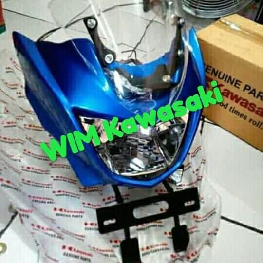 Batok barong lampu depan fullset ninja R 150 Original Kawasaki