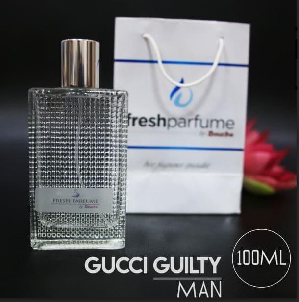 Jual Parfum Terlaris Ori Refil Gucci Guilty Man 100ml Kota Bandung