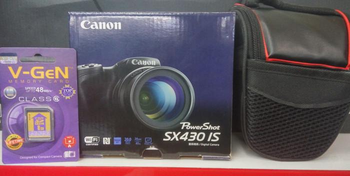 harga Canon powershot sx430is +tas+8gb Tokopedia.com