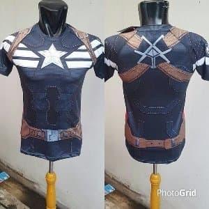 cb8741c8 Jual Under Armour Rashguard Captain America Winter Soldier - Sh ...