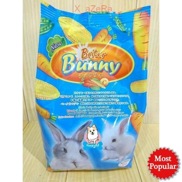 BRITER BUNNY Carrot 1kg Makanan Kelinci