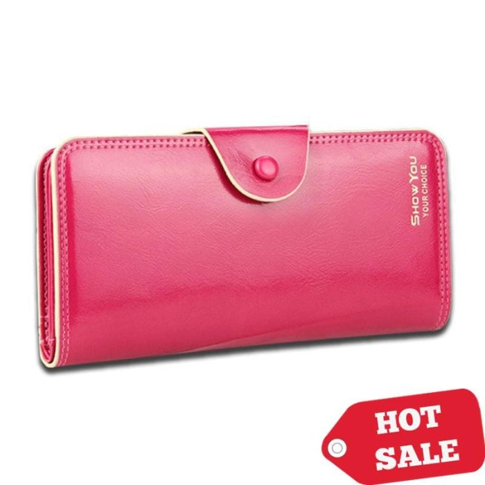 Dompet Cewe Panjang IMPOR 4208 Fashion Korea Women Wanita Long Wallet