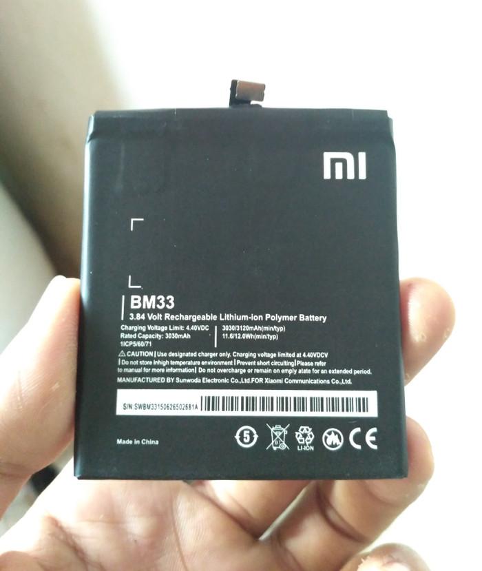 harga Battery batre baterai xiaomi redmi mi4i || bm33 original 100% Tokopedia.com