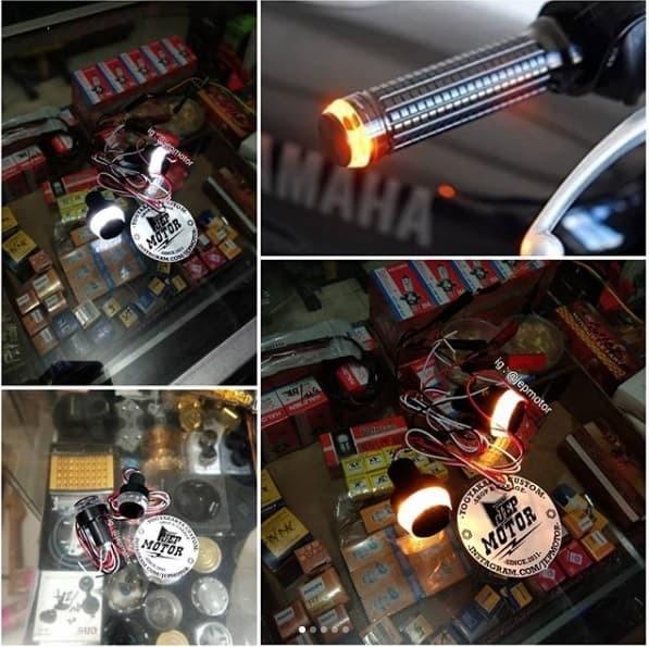 harga Sein jalu stang led + lampu kota japstyle sein hd Tokopedia.com