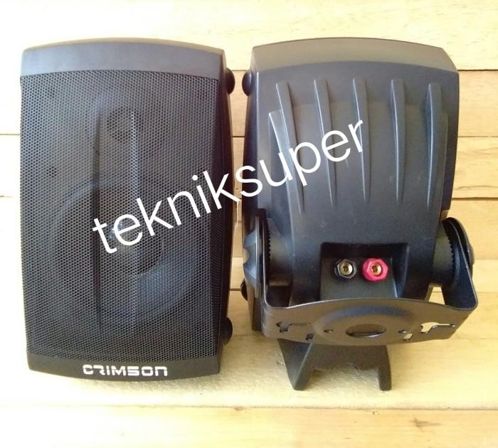 harga Speaker monitor 5  pasif crimson 300 watt (white) Tokopedia.com