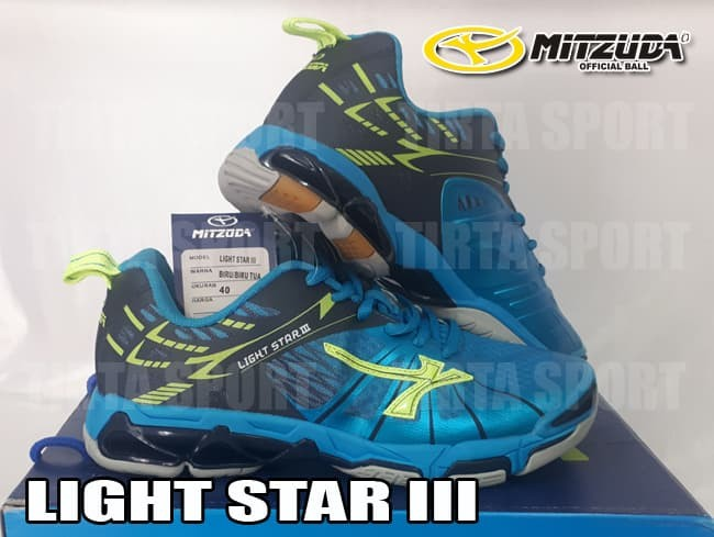 Jual Sepatu Voli Mitzuda Light Star Iii New Color Kab