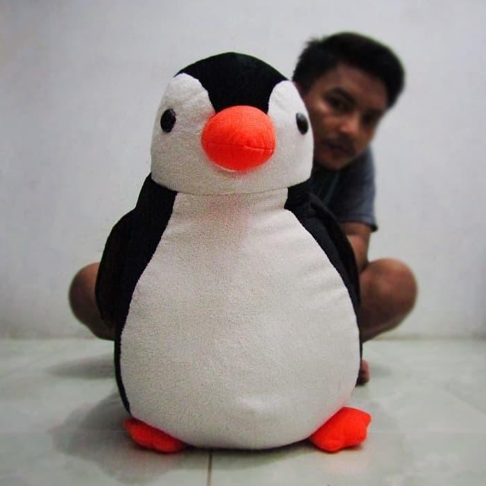 Boneka Pinguin Hitam XL