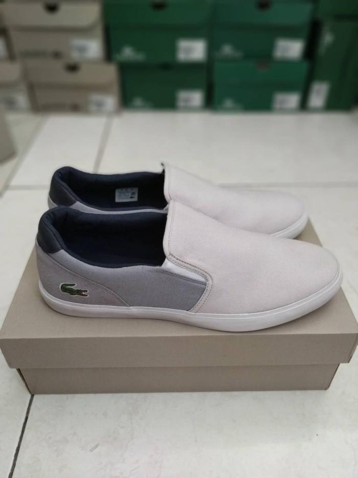 Jual Sepatu Lacoste slip on Original By instagram Lqtokk - Lqtok ... 95ad9a1ac5