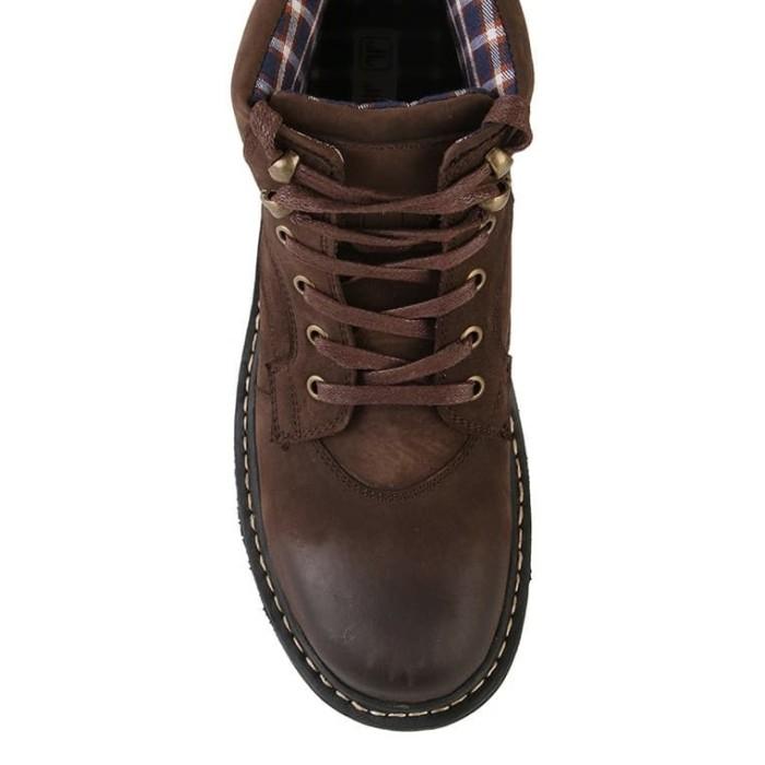 Sepatu Boots Original Jim Joker Jeruk 1B Leather - Coffee