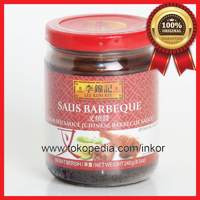 LEE KUM KEE SAUS BARBEQUE TOPLES KACA 240GR