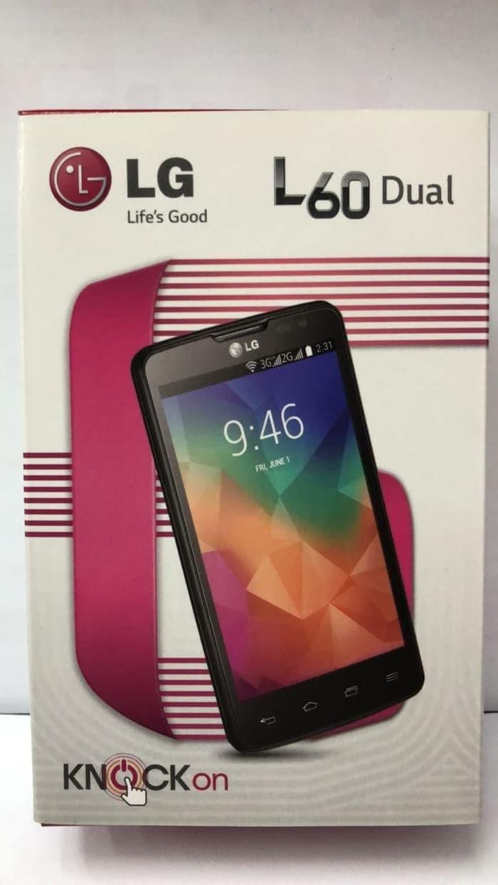 Lg L60 X145 Dual Sim 4gb Hitam Daftar Harga Terbaru Dan Terlengkap L90 D410 Quadcore 8gb Source New Resmi Android Murah Hp 3g