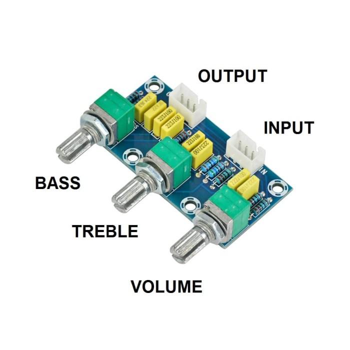 harga Passive tone control hifi pre amplifier preamp stereo bass treble Tokopedia.com