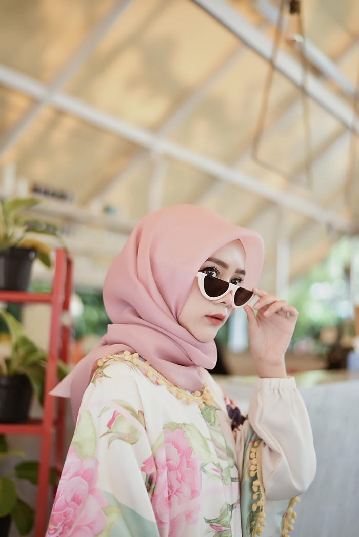 Foto Produk Jilbab / Hijab / Kerudung Organza Silk PREMIUM!!! - Putih dari Hijab On Top