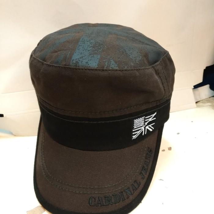 Topi bundar  jeans cardinal original coklat 8655585b7f