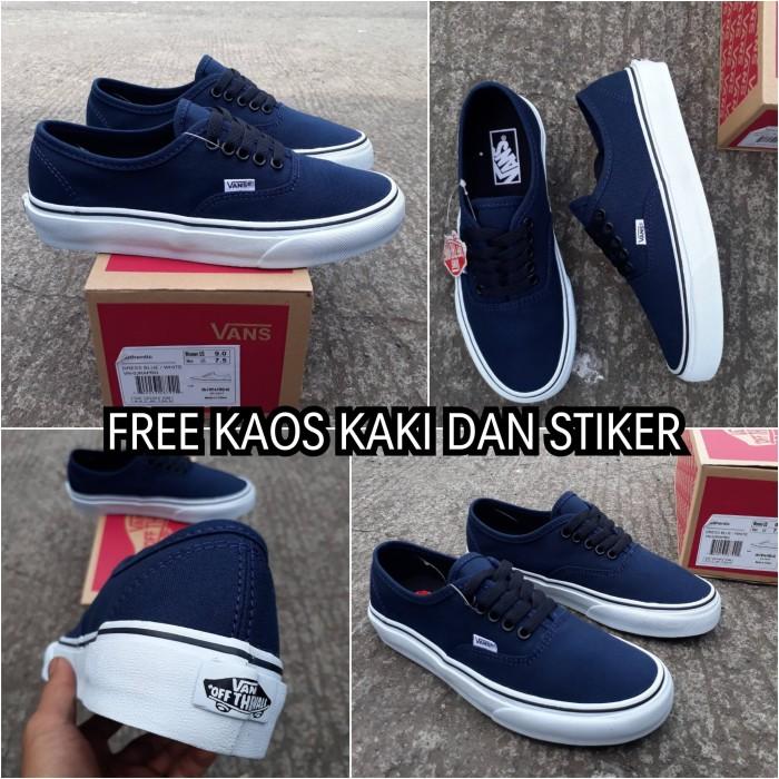 30282784234e Jual Sepatu vans authentic navy original waffle ICC BNIB - Kota ...