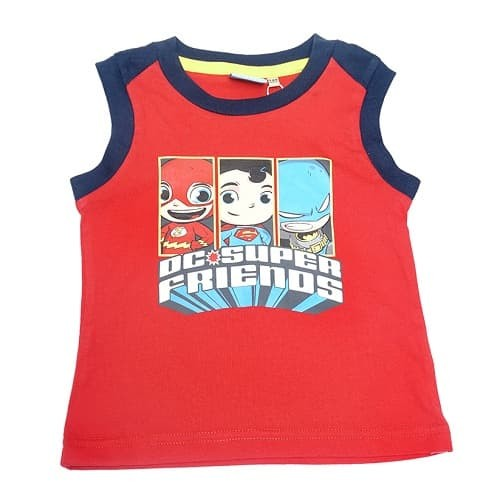 Jual Kaos Anak Laki-laki Set Sleeveless DC Superfriends ... e07749c4da