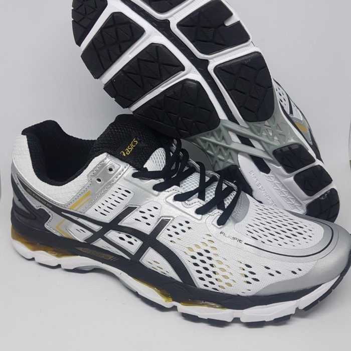 Jual Sepatu Running.Gym.Volly Asics Gel Kayano 22 White Black Murah ... 6f113cf177