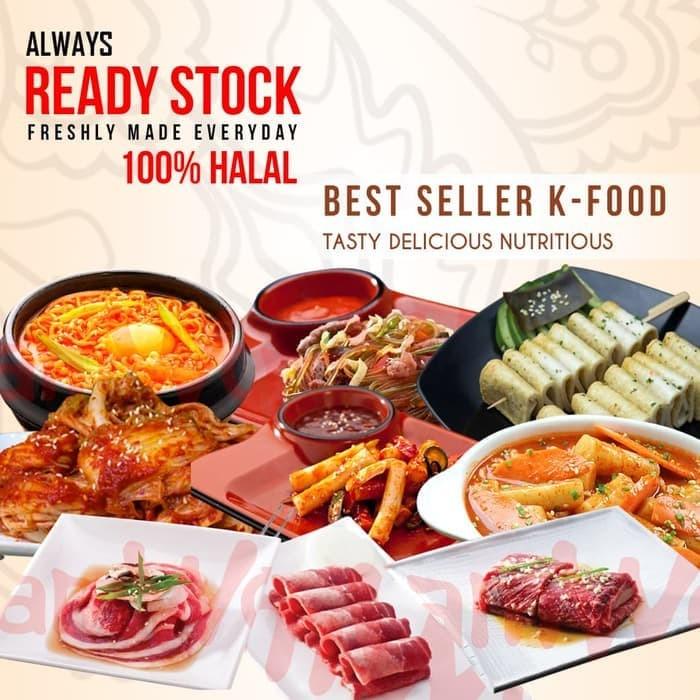 Jual Makanan Korea Korean Food Kimchi Tteokbokki Odeng