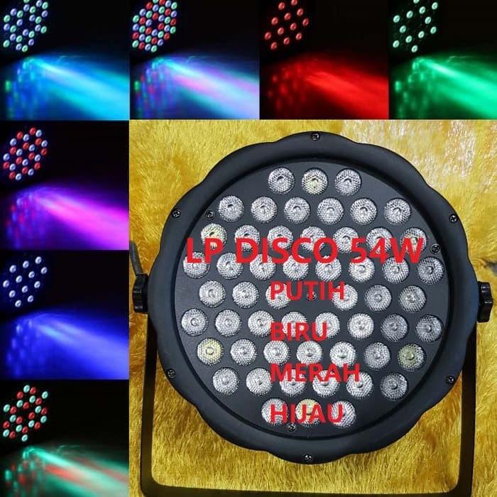 LAMPU SOROT PANGGUNG DISCO 54 LED PAR LED 54 LED