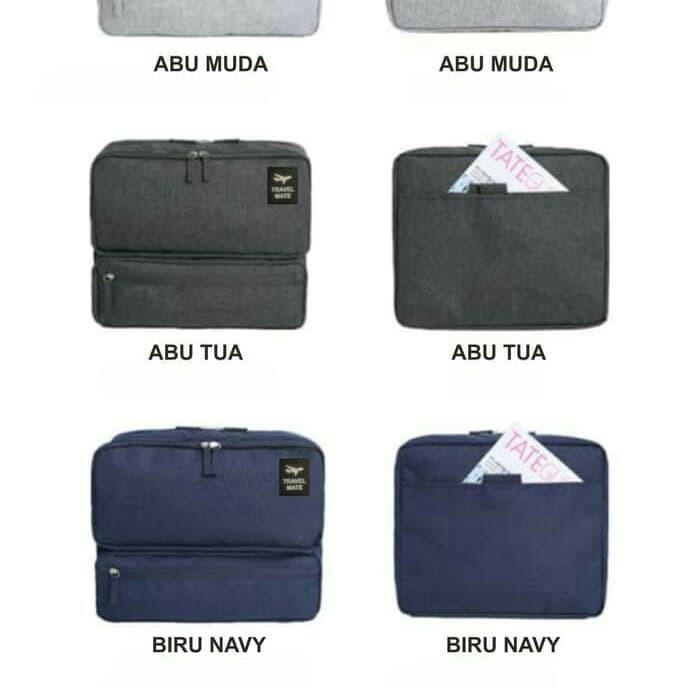 Korean Grand Voyaging Bag Ver 2 Travel Organizer Tas Selempang Abu ... dbd4c284b9