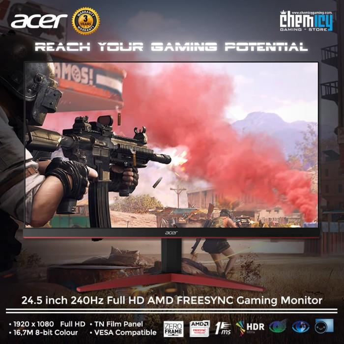 harga Acer kg251qd 24.5 inch 240hz full hd amd freesync gaming monitor Tokopedia.com