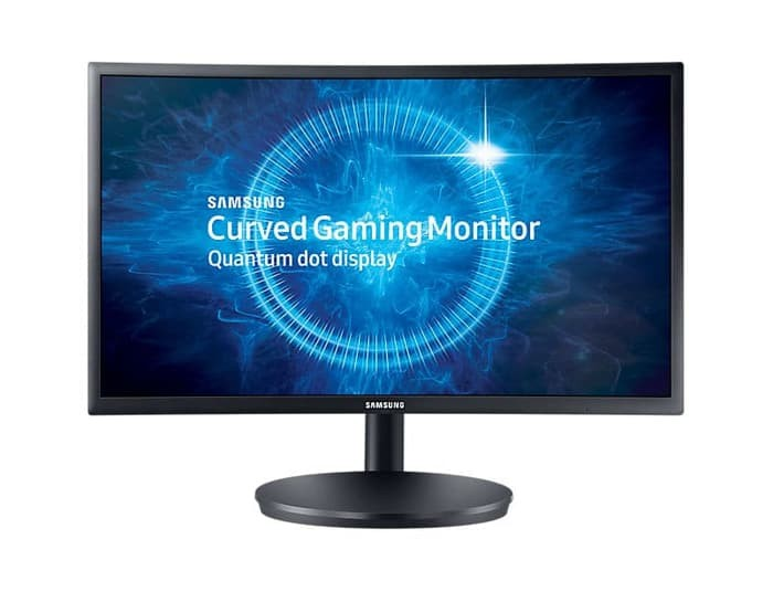 harga Samsung curved led gaming monitor 23.5 inch lc24fg70fqexxd Tokopedia.com
