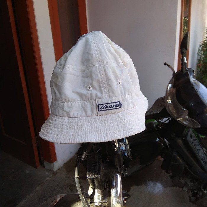 Jual Bucket Hat Vintage 80s by Mizuno - Putih - Anything2Second ... 061476683e6