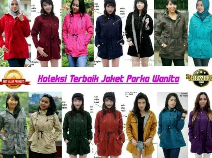Jual Jaket Blazer Mantel Wanita Parka Cewe Model Korea Canvas Winter ... 7882396395