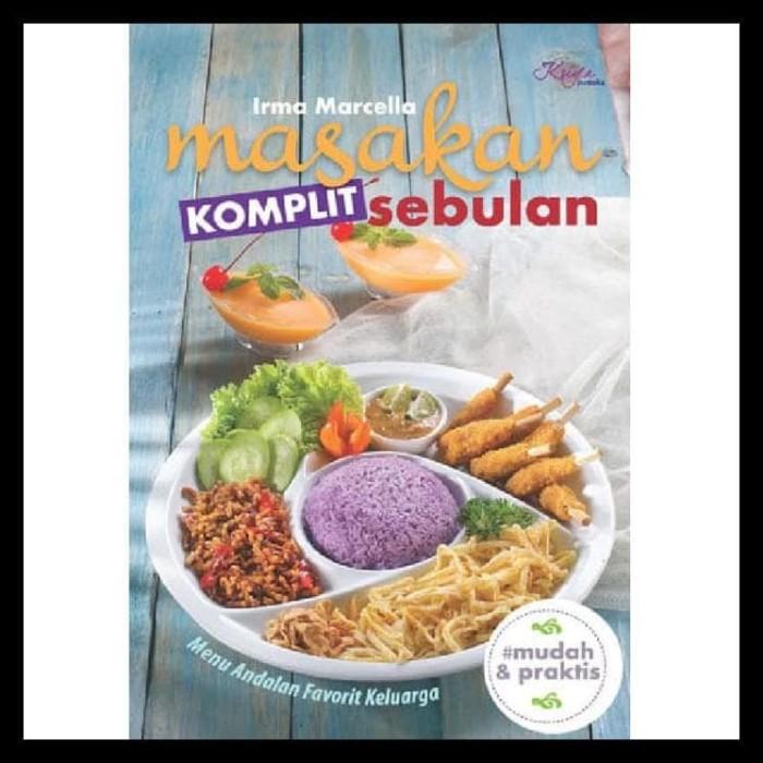 Jual Best Seller Buku Resep Masakan Komplit Sebulan Menu Makanan