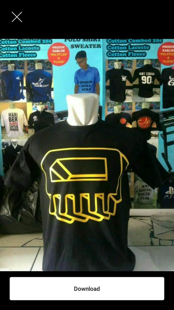 Jual Kaos BIG SIZE BLACK IDI Berkualitas Jakarta Barat Yellowshop8