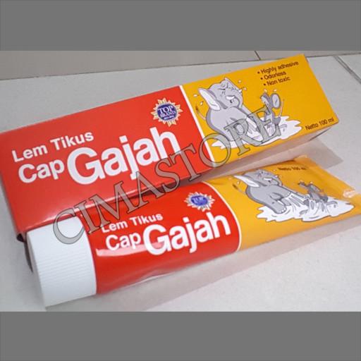 Lem Tikus Cap Gajah Tube 100ml.
