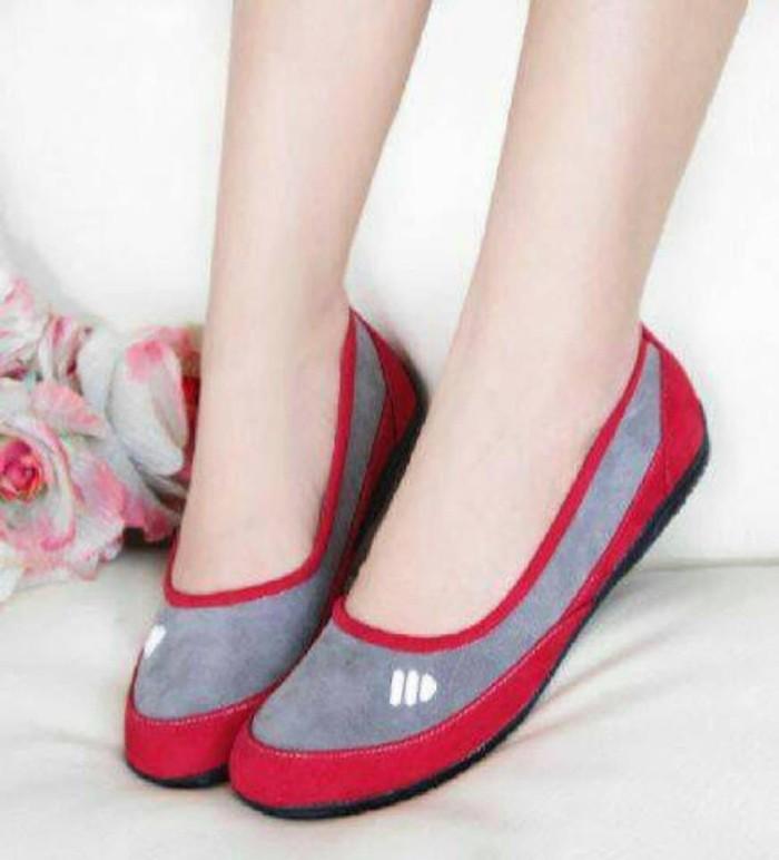 Jual Sepatu Flat Wanita - FLATSHOES ADS MERAH Limited ... 6933a28d10