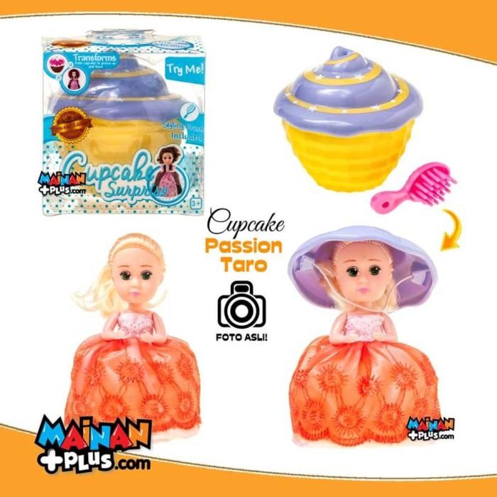 Mainan Anak Perempuan - Boneka Cupcake Surprise Besar - Pa Berkualitas c3752684da