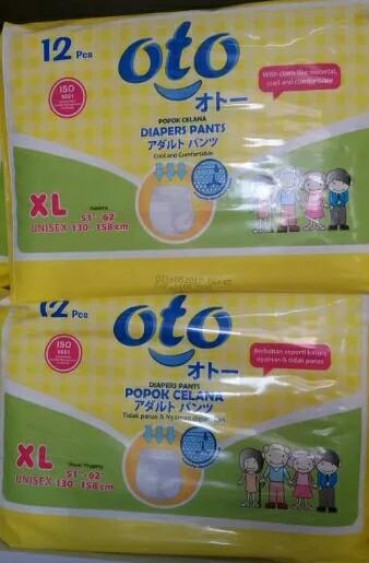 harga Diapers/ pampers/ popok celana dewasa ukuran xl isi 12pcs Tokopedia.com