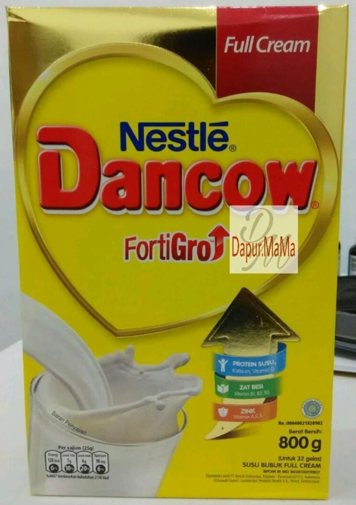 Jual Susu Dancow Fortigro Full Cream 800gr Harga Promo Berkualitas