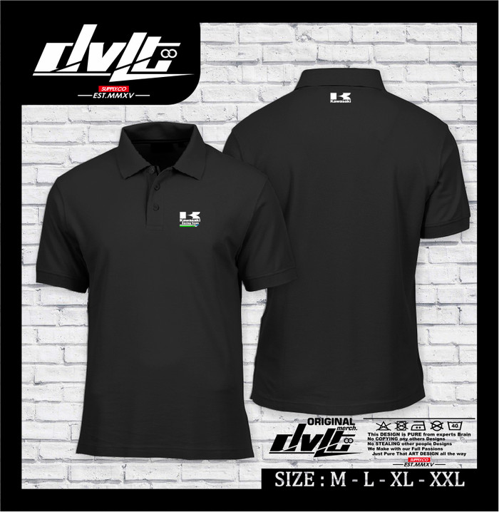 Auschecken Veröffentlichungsdatum Steckdose online Jual Poloshirt / Kaos Polo kawasaki Racing Team Logo Murah -HS - Kab.Ciamis  - Happy Shop146 | Tokopedia