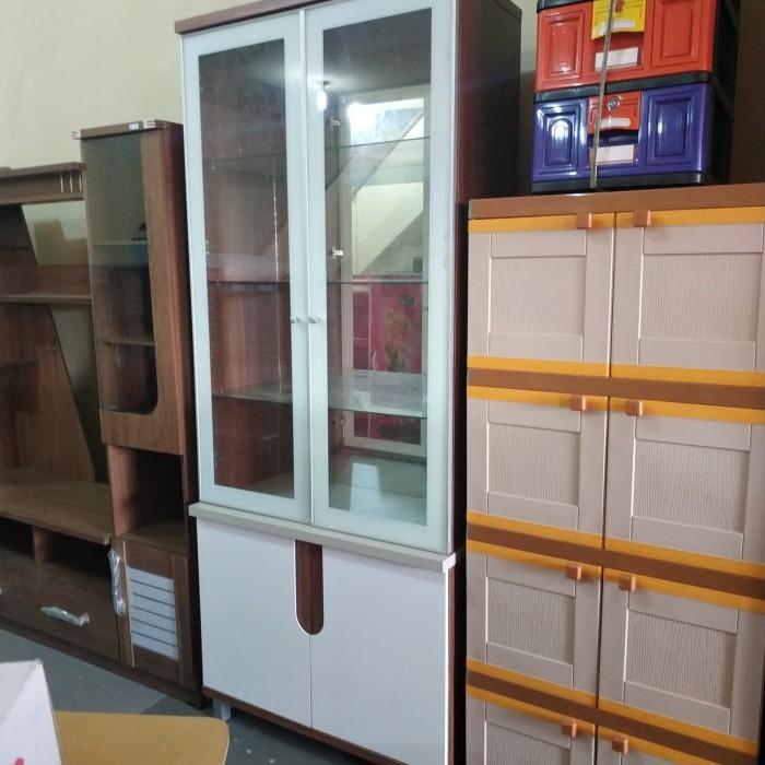 Beli Lemari Hias Kaca Olympic Tetris Harga Rp 2 500 000