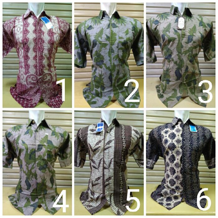 Jual Kemeja Batik Murah Hem Baju Kemeja Pakaian Batik Pria Obral Ika ... 38a2efae4f