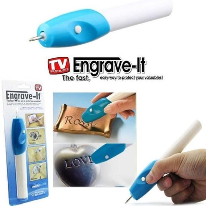 Alat ukir elektrik Engrave it - Putih