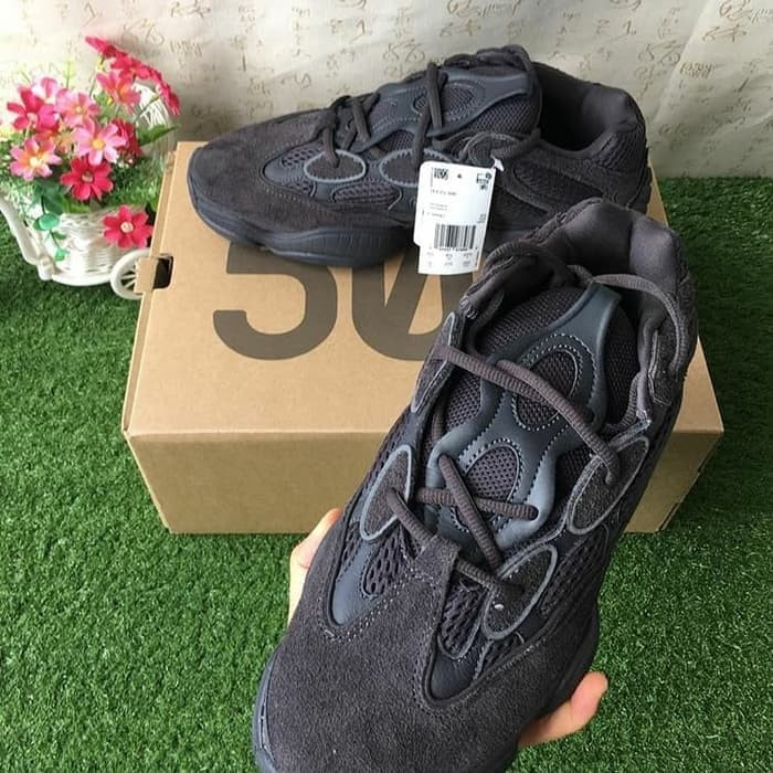 best cheap e390b 31e54 Jual PROMO ADIDAS YEEZY 500 UNTYLITI BLACK - DKI Jakarta - bigbosseman |  Tokopedia