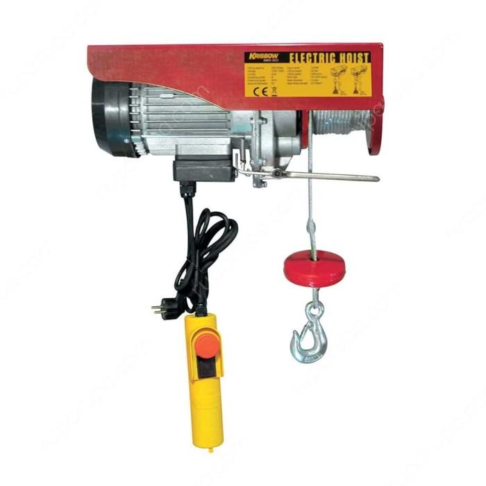 harga Electric hoist reel double hook 600kg krisbow / katrol elektrik Tokopedia.com