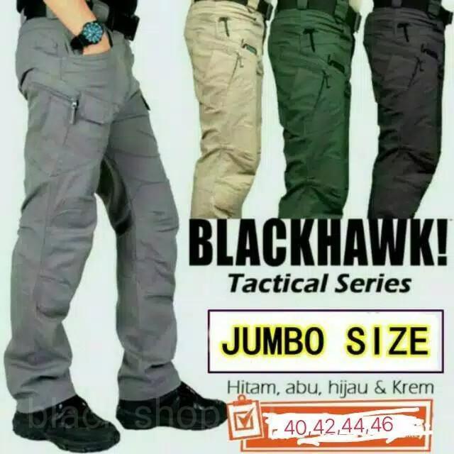 BIG SIZE celana TACTICAL blackhawk panjang/size zumbo ukuran besar