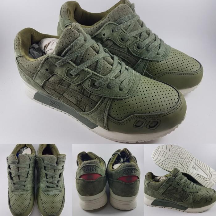 wholesale dealer a5625 cad33 Jual Sepatu Kets Asics Gel Lyte III 3 Suede Dark Army Green Hijau Tua -  Kota Bandung - DV Store Girl Fashion | Tokopedia