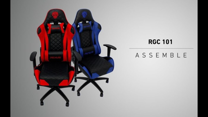 Jual Rexus RGC 101 / RGC101 - Gaming Chair - Biru ...
