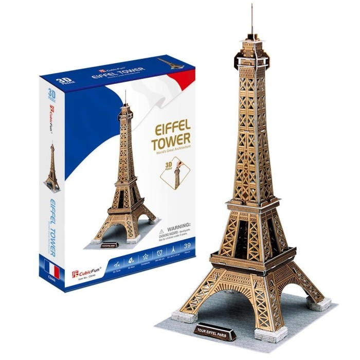 harga Cubicfun eiffel tower m c044h - 3d puzzle Tokopedia.com