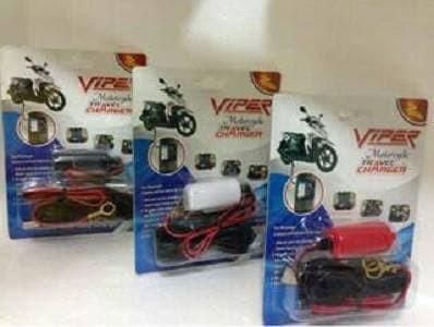 harga Viper motorcycle travel charger / charger handphone dari aki Tokopedia.com