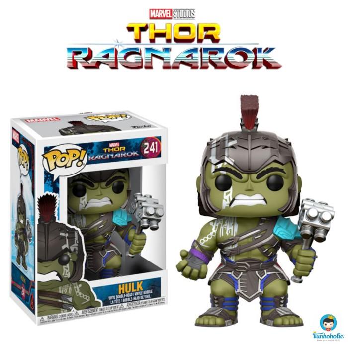 harga Funko POP! Marvel Thor Ragnarok - Hulk (Helmeted Gladiator) #241 Tokopedia.com